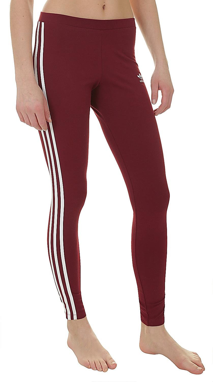 dcd3cf389f legíny adidas Originals 3 Stripes Tight - Collegiate Burgundy - Snowboard  shop