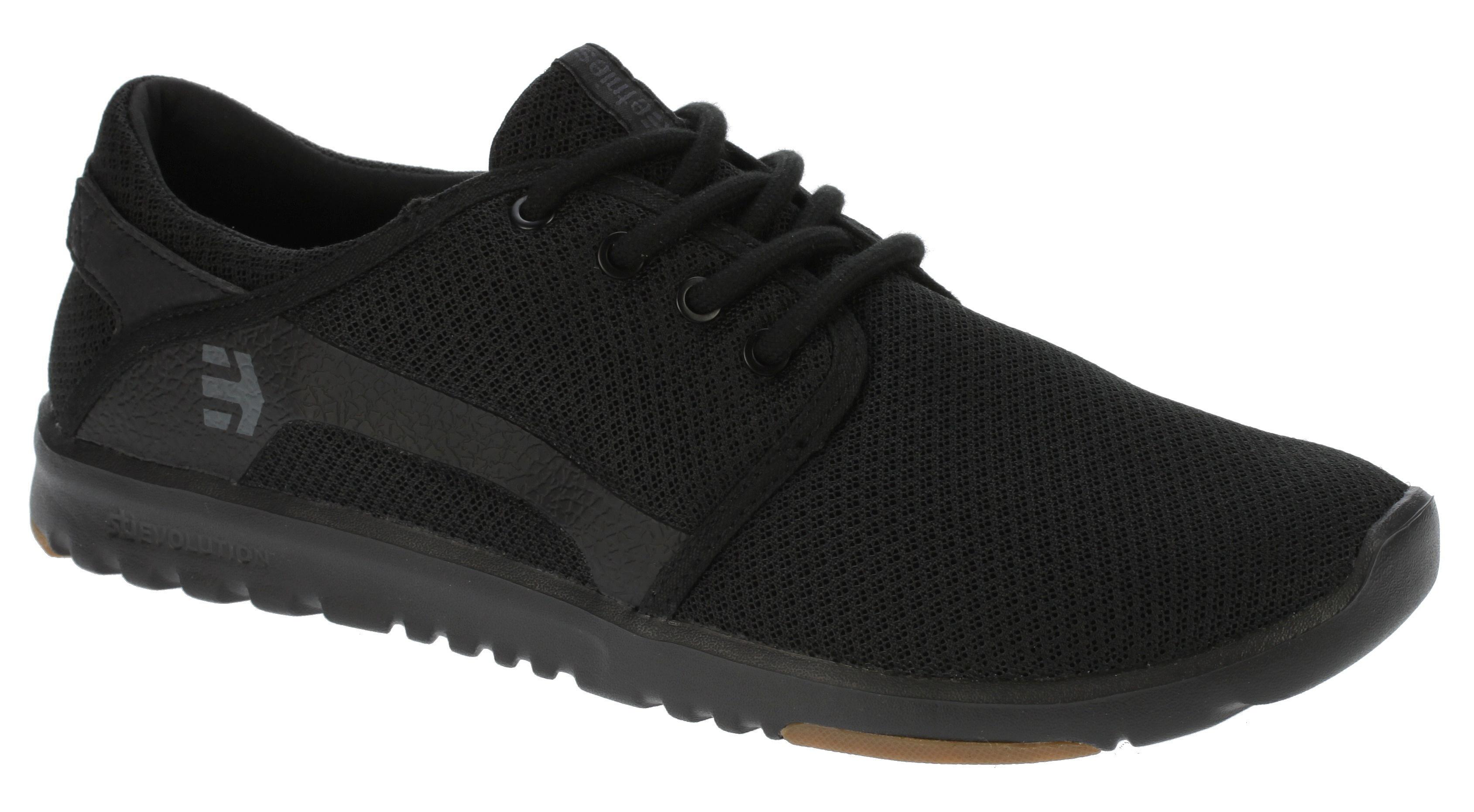 shoes Etnies Scout - Black/Black/Gum