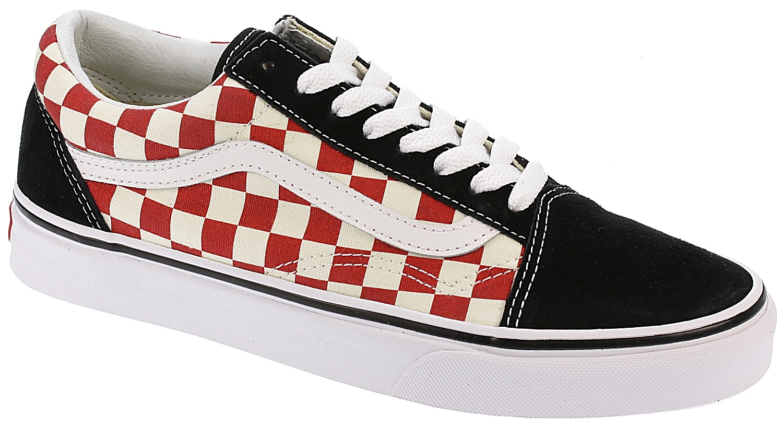 topánky Vans Old Skool - Checkerboard Black Red - skate-online.skate -online.sk 12ede9007d3