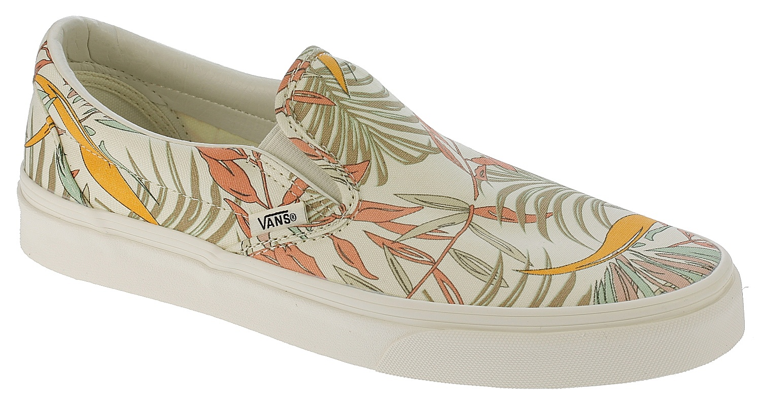 47ff6ac6825c55 shoes Vans Classic Slip-On - California Floral Marshmallow Marshmallow -  Snowboard shop