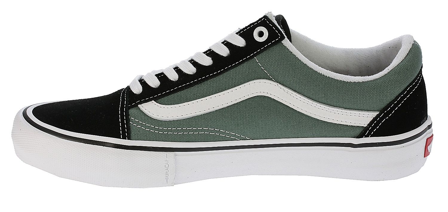 shoes Vans Old Skool Pro - Black Duck Green - Snowboard shop ... b4e719b27f0