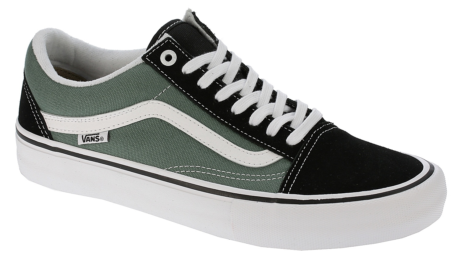 e326dff113cf96 shoes Vans Old Skool Pro - Black Duck Green - Snowboard shop ...