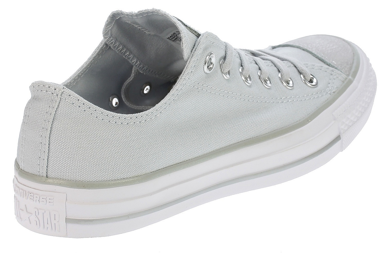 d2c143b17a3cb0 ... shoes Converse Chuck Taylor All Star Tipped Metallic OX - 559888 Pure  Platinum Silver ...