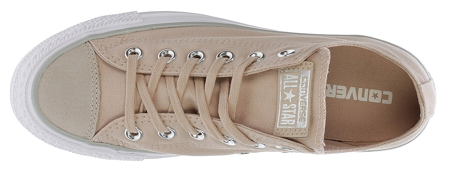 aaaa4bb6e9941f Boty Converse Chuck Taylor All Star Tipped Metallic OX - 559889 Particle  Beige Silver White   Předchozí Další