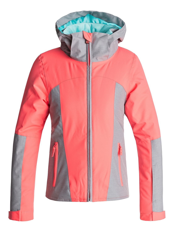 dětská bunda Roxy Sassy - NKN0 Neon Grapefruit 14 e50115411fb