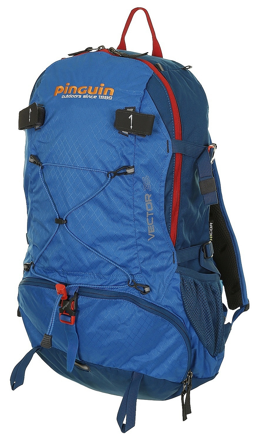 198a4bcfbe backpack Pinguin Vector 35 - Blue - Snowboard shop