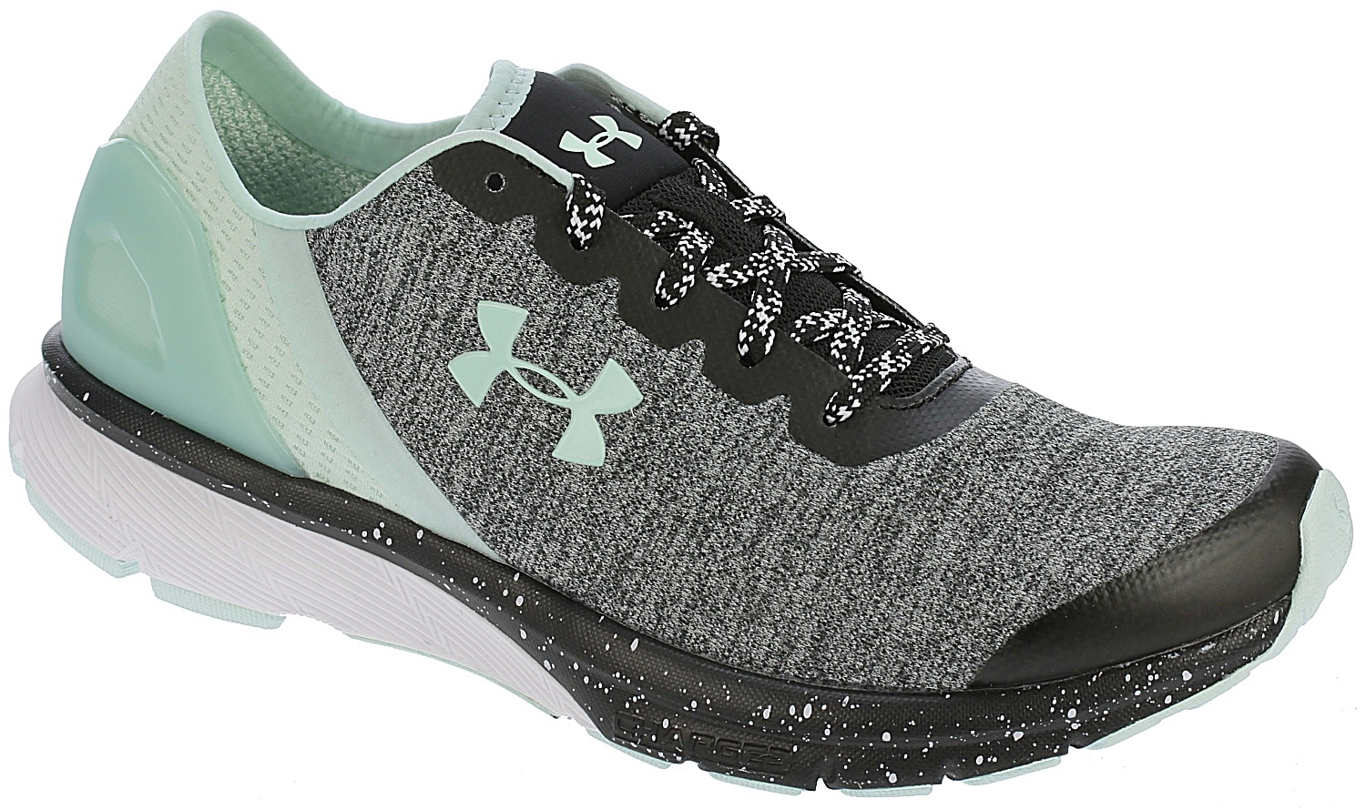 boty Under Armour Charged Escape - 002 Black White Refresh Mint - boty-boty .cz 153cf3b5653