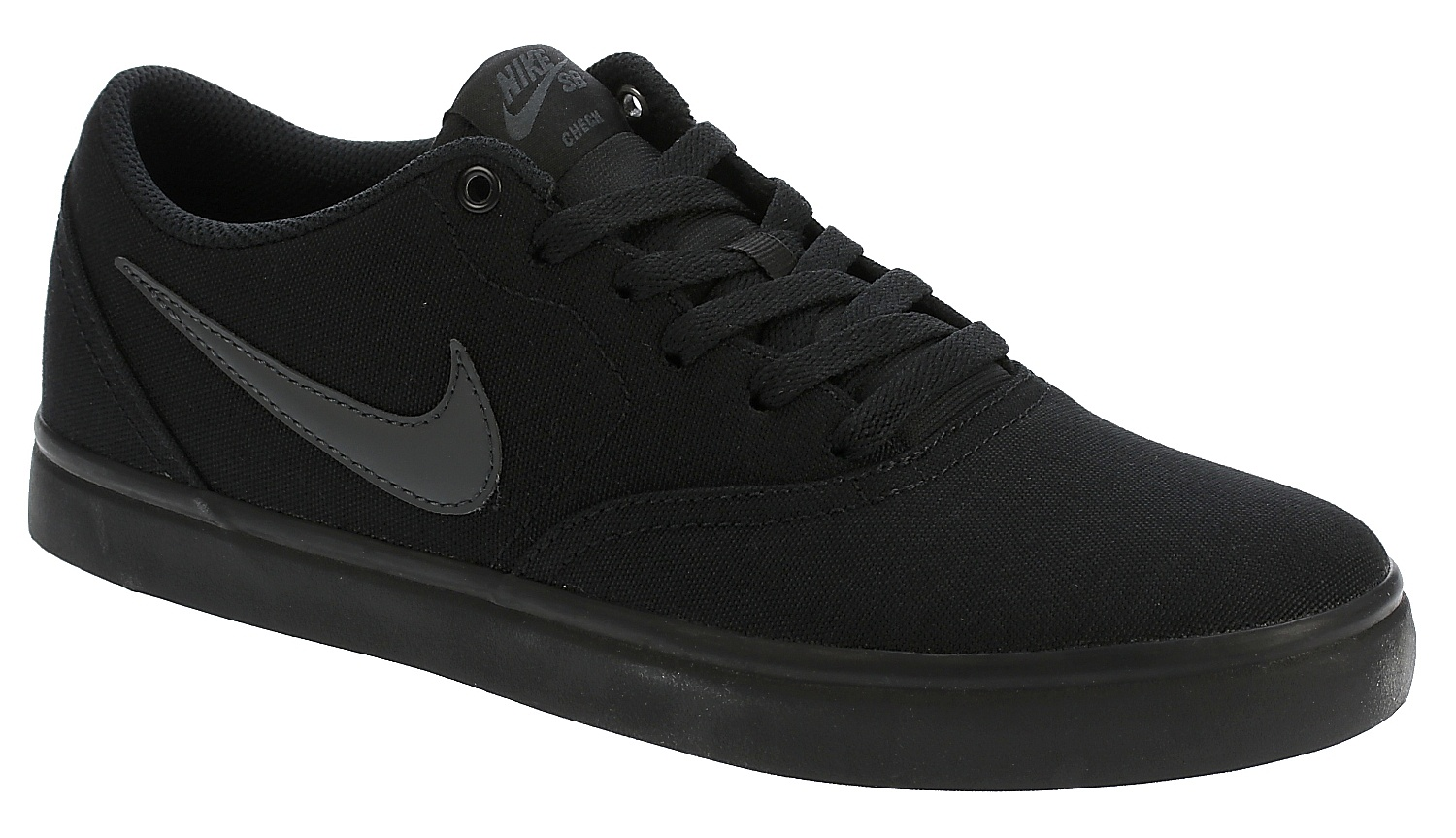 boty Nike SB Check Solar Canvas - Black/Anthracite 45.5