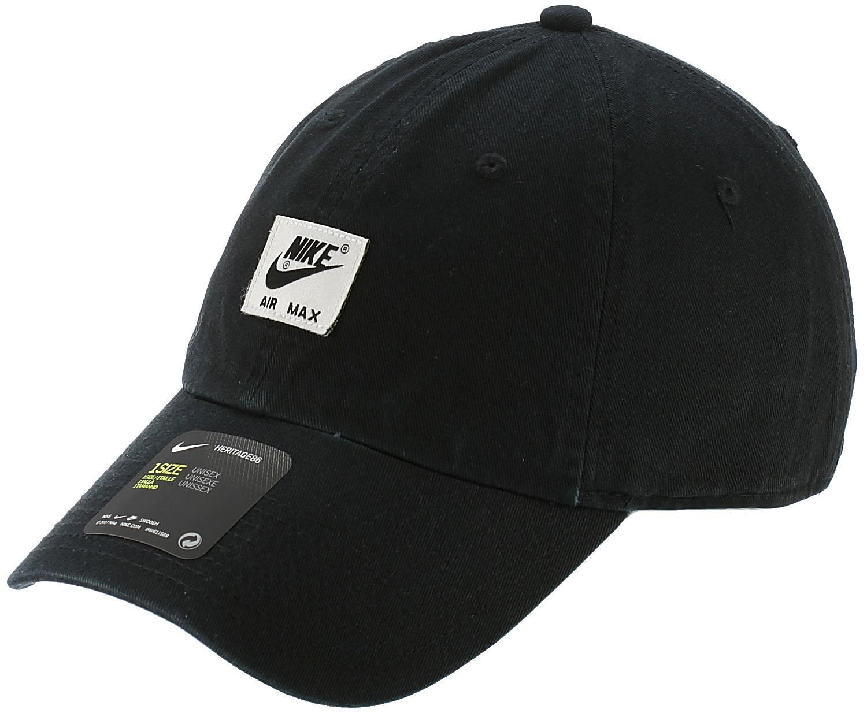 8945b57d842 kšiltovka Nike Sportswear Air Heritage86 Label - 010 Black Black one size