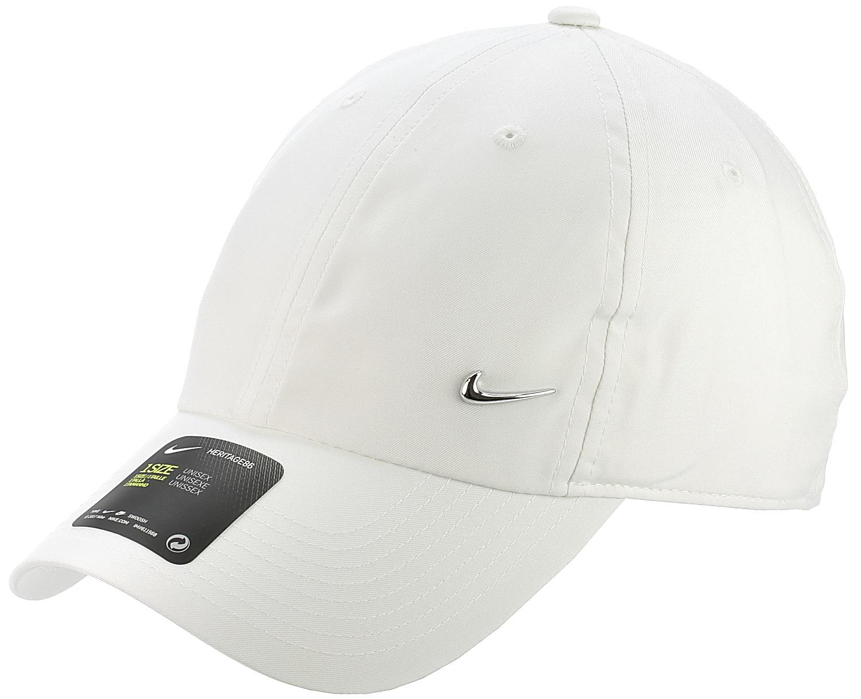 kšiltovka Nike Sportswear Heritage86 Metal Swoosh - 100 White Metallic  Silver one size 911d41c88a