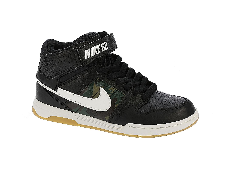 boty Nike SB Mogan Mid 2 Jr B - Black/Summit White/Medium Olive 31
