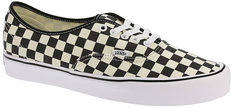 9505a4832d7ae0 shoes Vans Authentic Lite - Checkerboard Black White - Snowboard shop