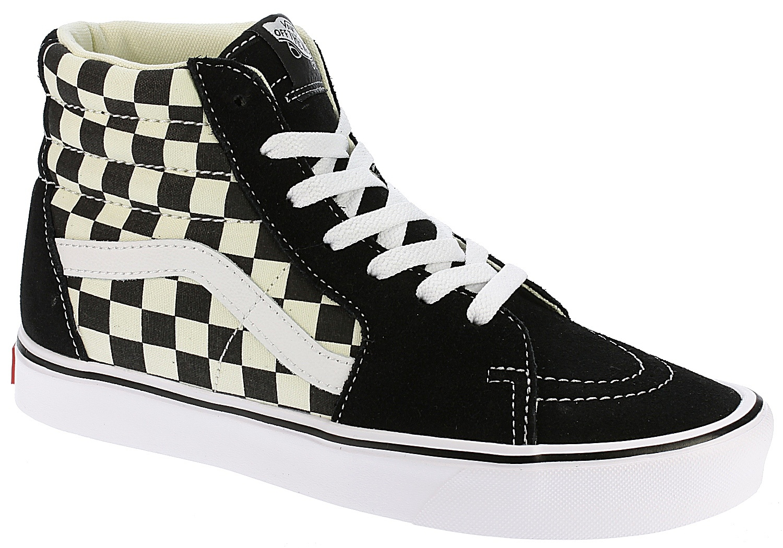 a3c251ef61 shoes Vans Sk8-Hi Lite - Checkerboard Black White - Snowboard shop ...