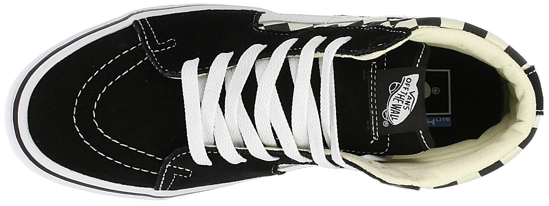 topánky Vans Sk8-Hi Lite - Checkerboard Black White - Snowboard shop ... b00675f5f2f