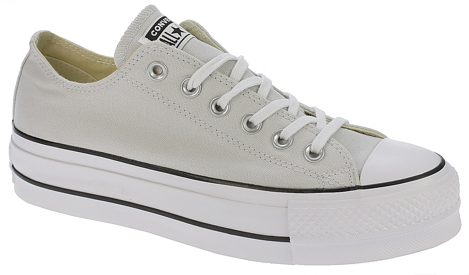 47ffd76c2f64 boty Converse Chuck Taylor All Star Lift OX - 560686 Mouse White Black -  Snowboard shop