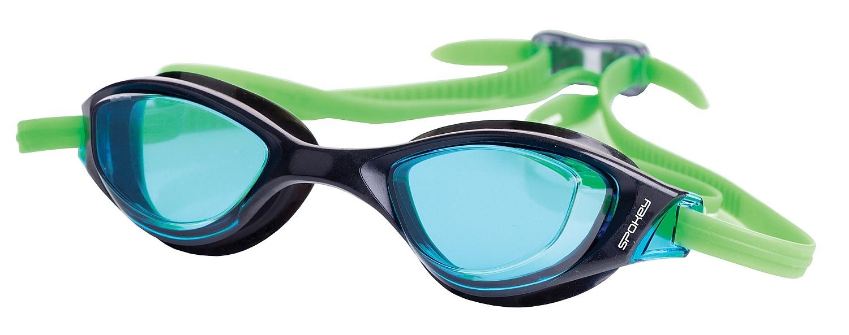 brýle Spokey Falcon - K922534/Black/Green one size