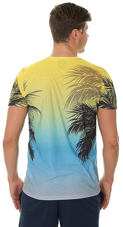 ... T-Shirt New Era Coastal Heat NBA Golden State Warriors - Aop ... 87f817076