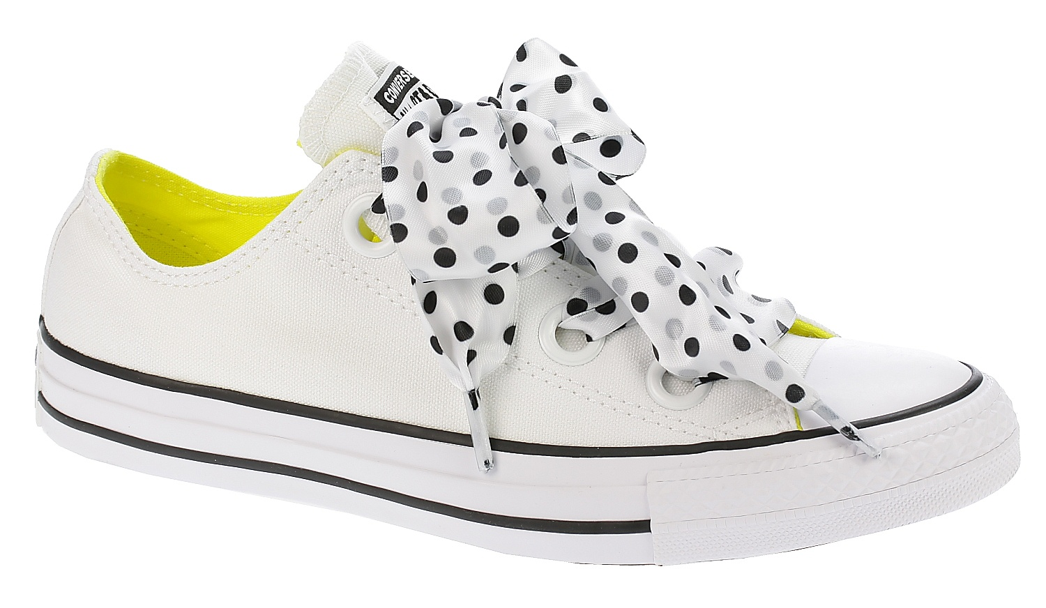 269e137fc08891 boty Converse Chuck Taylor All Star Big Eyelets OX - 560670 White Fresh  Yellow Black - Snowboard shop