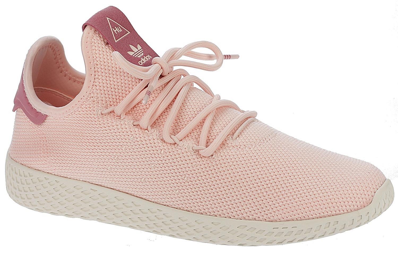 778e4ad83 boty adidas Originals Pharrell Williams Tennis HU - Ice Pink Ice Pink Chalk  White - Snowboard shop