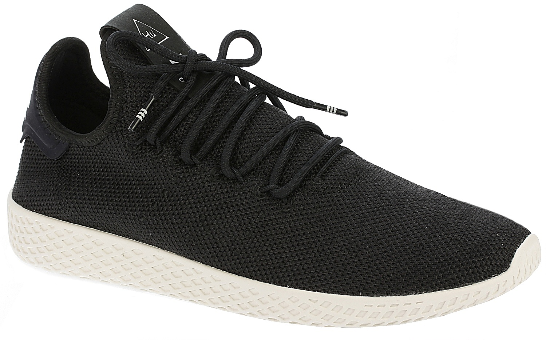 972df40986 shoes adidas Originals Pharrell Williams Tennis HU - Core Black/Core Black/Chalk  White ...