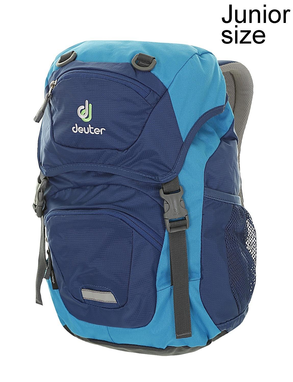 dd03db993 batoh Deuter Junior - Steel/Turquoise 18 L