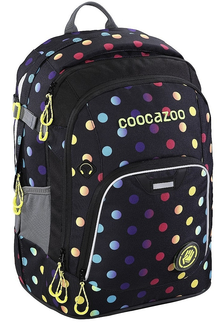 batoh Hama - Coocazoo RayDay - 139271/Magic Polka Colorful 24 L