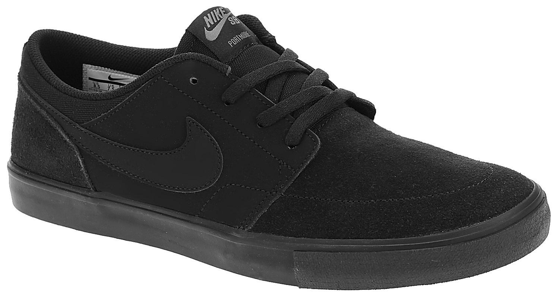 boty Nike SB Portmore II Solar - Black/Black 44