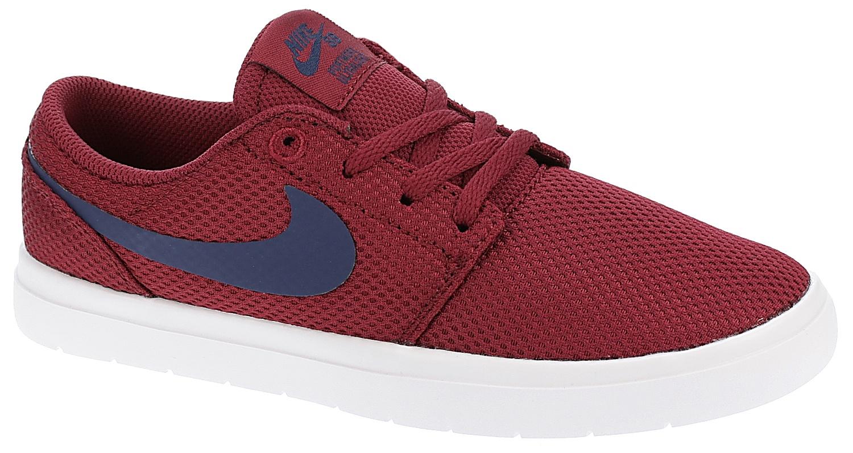 boty Nike SB Portmore II Ultralight GS - Red Crush/Blue Void/White 36.5