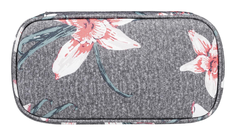 9c7b4478341 ... penál Roxy Take Me Away - KPG6 Charcoal Heather Flower Field ...