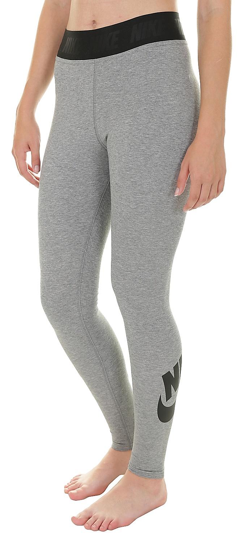 c254f9954b9b legíny Nike Sportswear Legging Leg A See HW - 091 Carbon Heather Black M