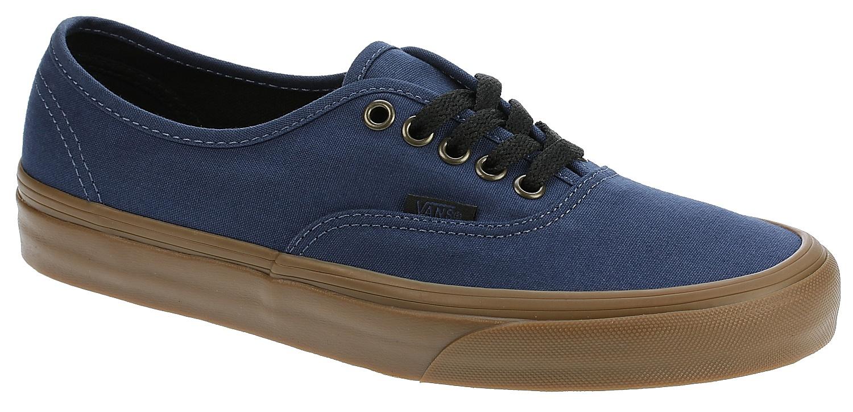 2f7e315e8f shoes Vans Authentic - Gum Outsole Dark Denim Black - Snowboard shop ...