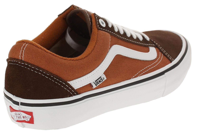 f62c1c468723 ... shoes Vans Old Skool Pro - Potting Soil Leather Brown - men´s ...