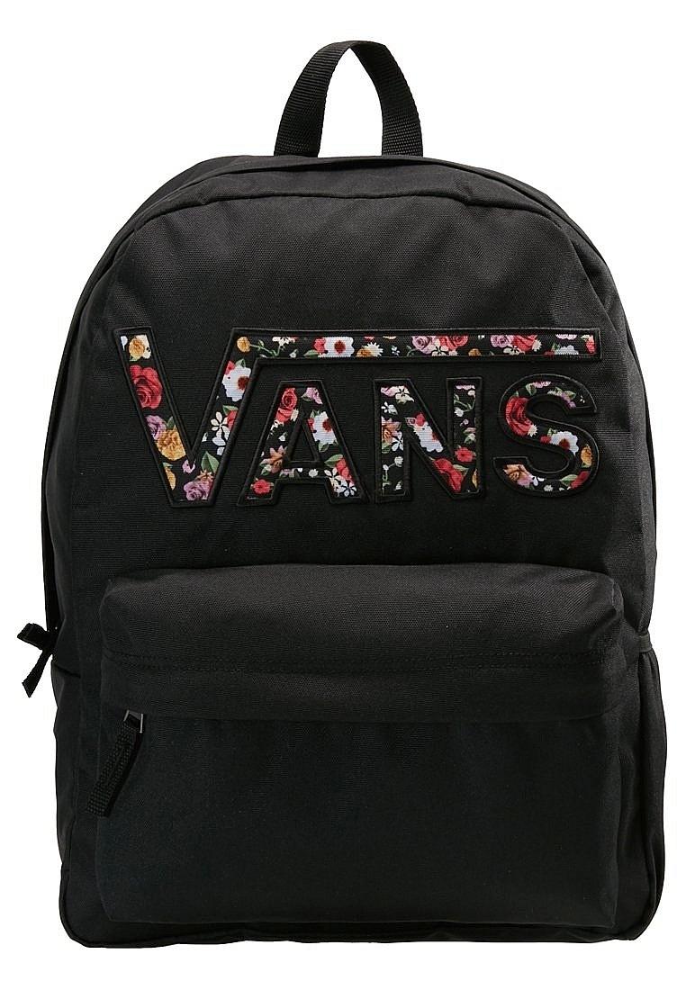 b6461ddc9d backpack Vans Realm Flying V - Black Mixed Flower - women´s - Snowboard  shop