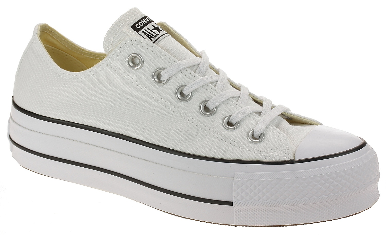 boty Converse Chuck Taylor All Star Lift OX - 560251 White Black White 54937fe649c