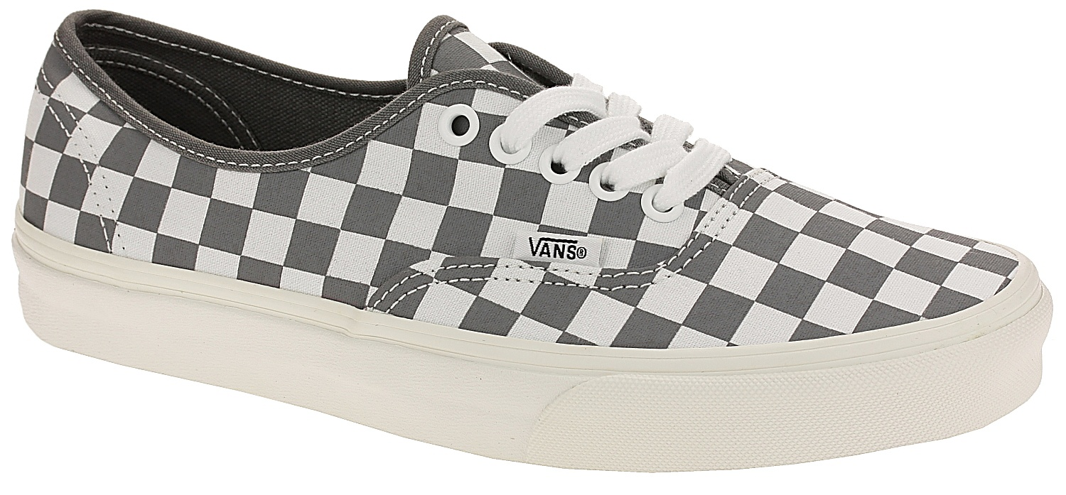 shoes Vans Authentic - Checkerboard Pewter Marshmallow - Snowboard shop 8b2608bb6