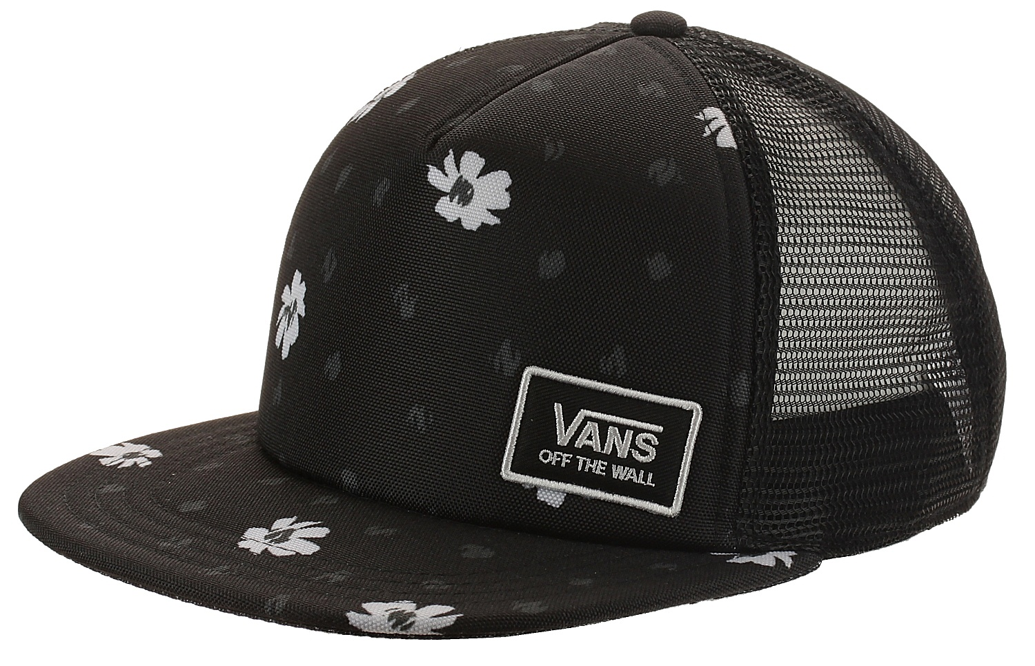ba561b304e2 kšiltovka Vans Beach Bound Trucker - Black Abstract one size