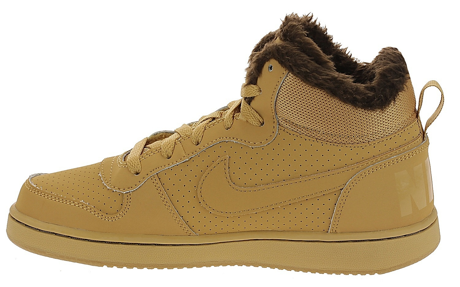 fda3b070363a ... shoes Nike Court Borough MID Winter GS - Haystack Haystack Barooque  Brown - unisex ...
