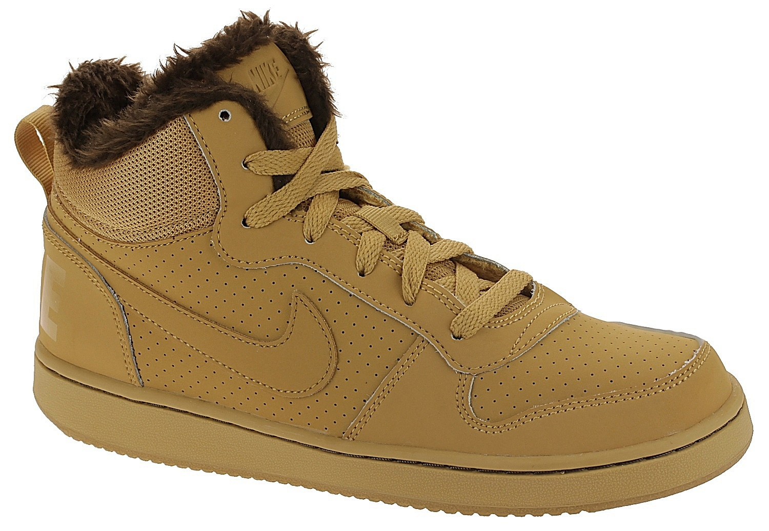 1d13e3d25c9f shoes Nike Court Borough MID Winter GS - Haystack Haystack Barooque Brown -  unisex junior - Snowboard shop