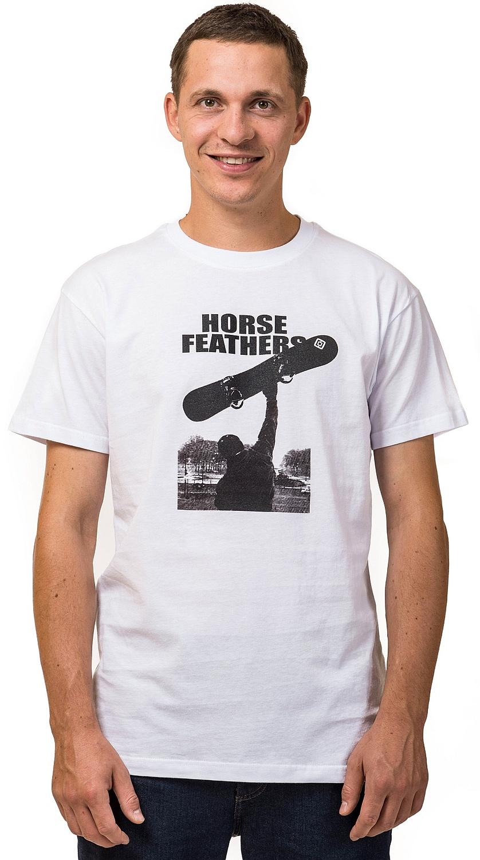 tričko Horsefeathers Rocky - White L