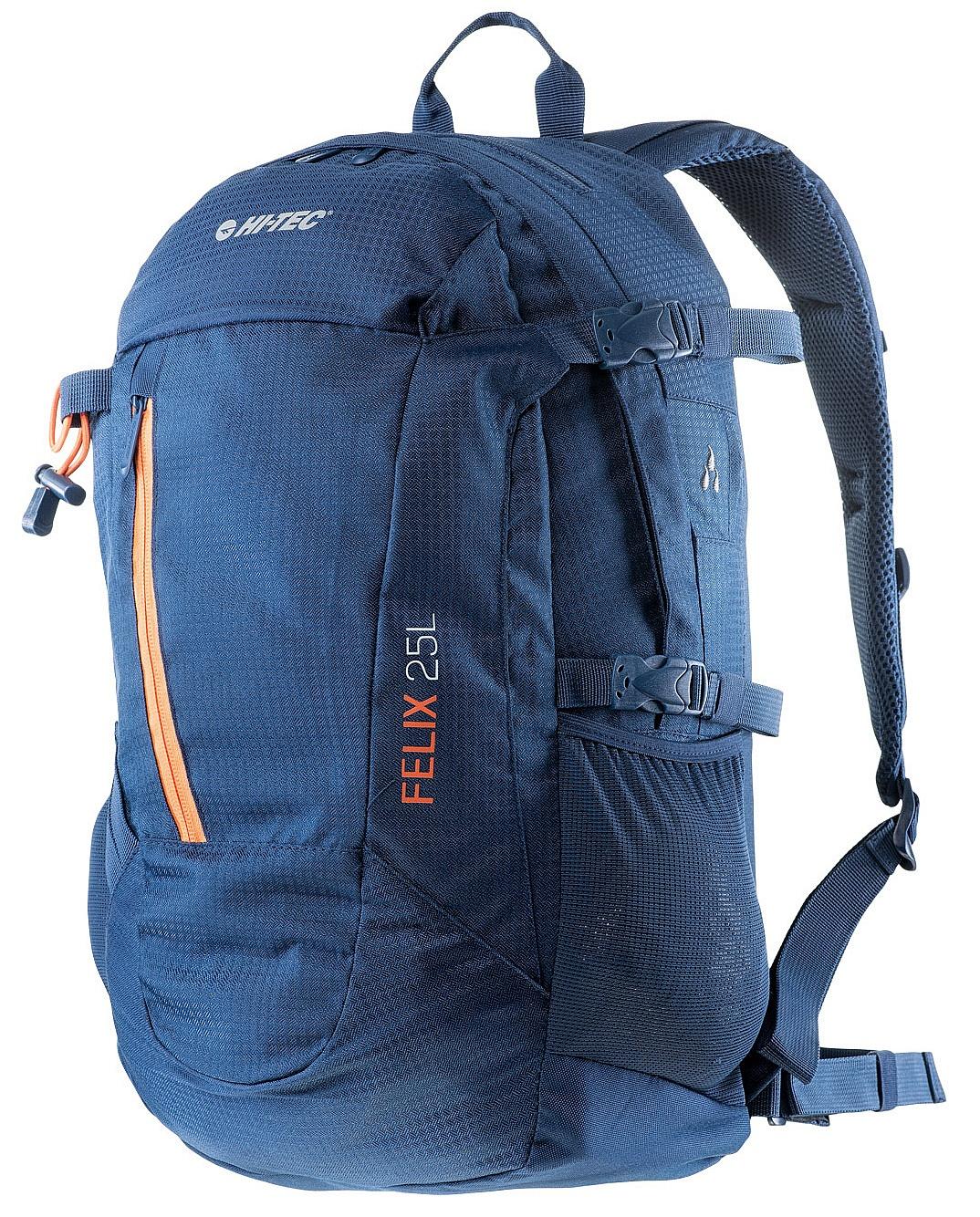 086ad595043a6 batoh Hi-Tec Felix 25 - Insignia Blue/Orange Peel 25 L