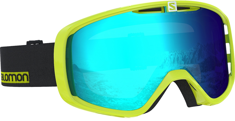 okuliare Salomon Aksium - Neon Yellow Universal Mid Blue ... 2f049c245f8