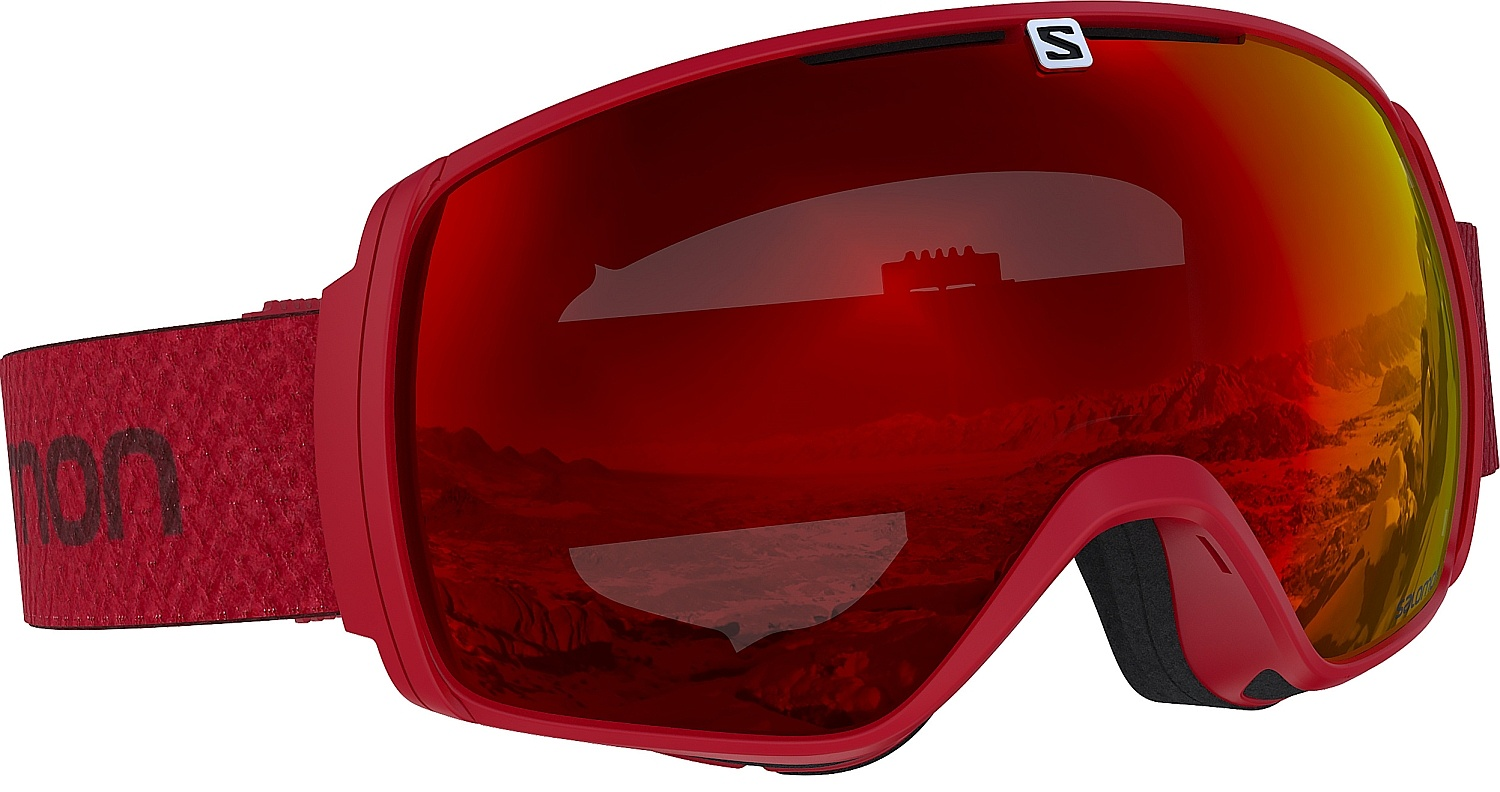 brýle Salomon XT One - Matador/Universal/Mid Red one size