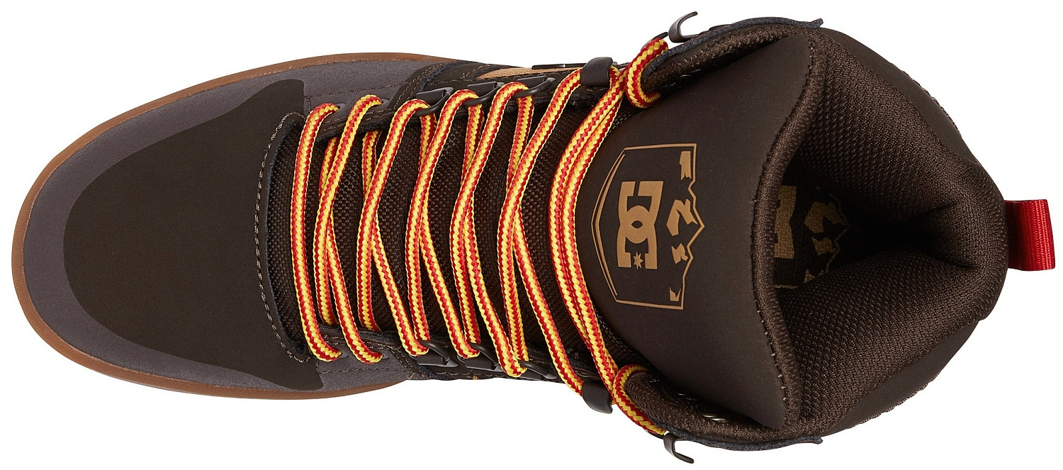 f7de7c7f20652 topánky DC Pure High -Top WR - CH6/Chocolate Brown - Snowboard shop ...
