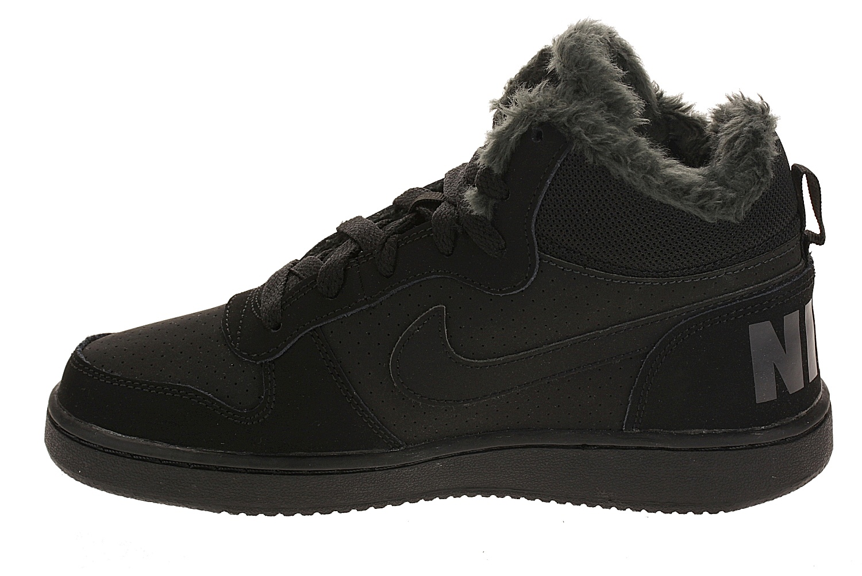... detské topánky Nike Court Borough MID Winter GS - Black Black Anthracite  ... 78d5e9b5201