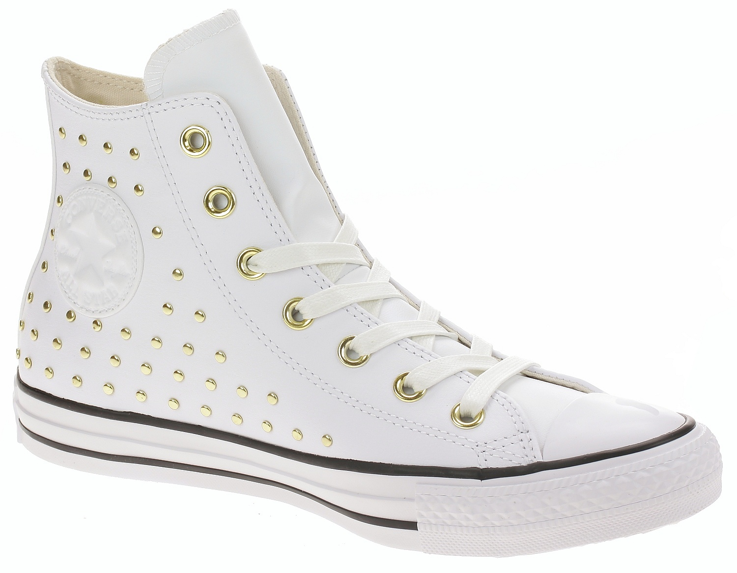 218feeec7d6 boty Converse Chuck Taylor All Star Hi - 561683 White White Gold 37