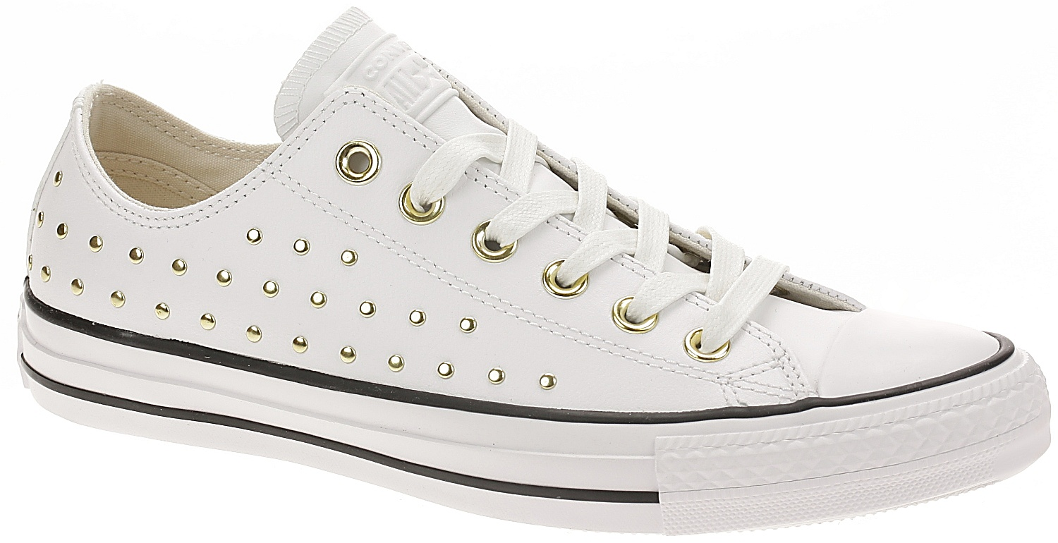 boty Converse Chuck Taylor All Star OX - 561684 White White Gold 39.5 9fb646530a