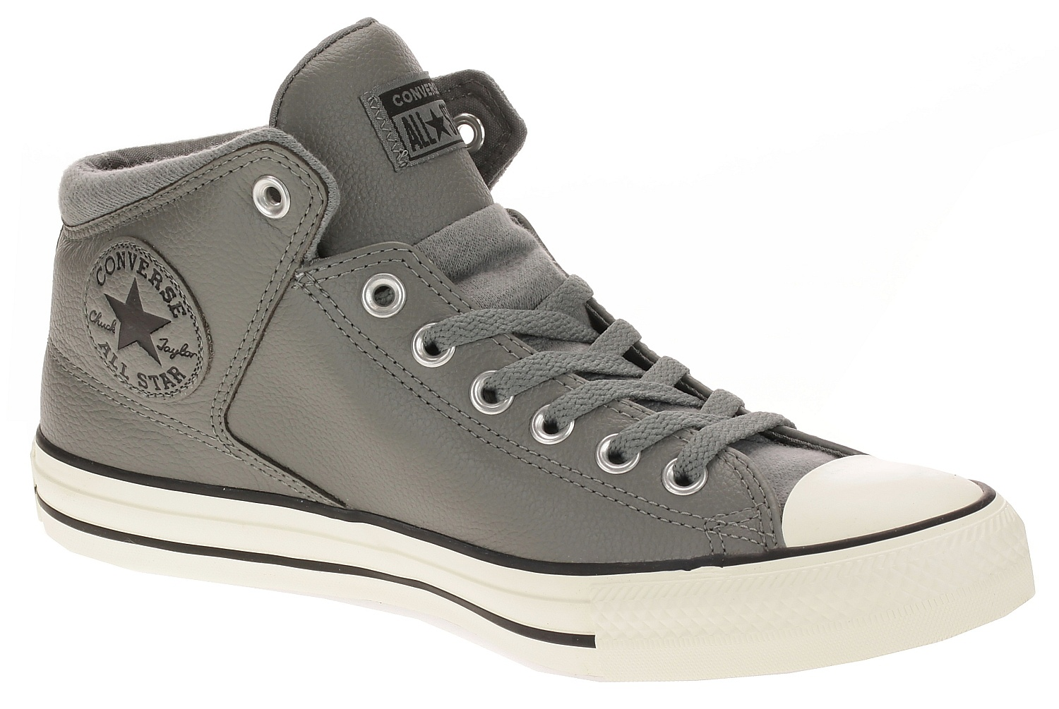 converse all star high street hi top black mason