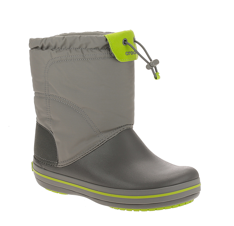 87000cf3ef1 boty Crocs Crocband Lodgepoint Boot - Smoke Graphite 33 34