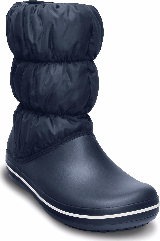 boty Crocs Winter Puff Boot - Navy White 37 38 88b9c79903