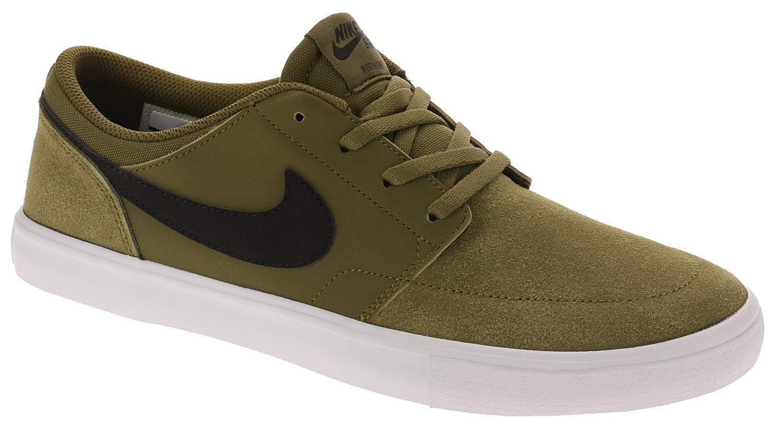 official photos dd049 0ea5b shoes Nike SB Portmore II Solar - Olive Flak Black Black White - men´s -  Snowboard shop, skateshop - snowboard-online.eu
